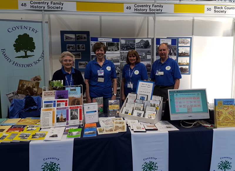 Members of the Coventry Family History Society