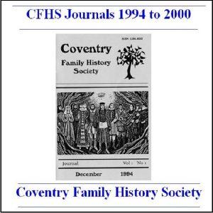 CFHS Journals 1994-2000