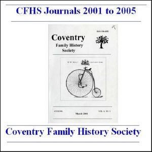 CFHS Journals 2001-2005
