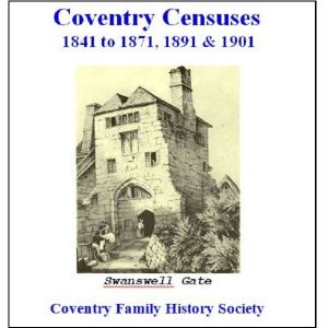 Combined Coventry Censuses CD