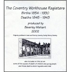 Coventry Workhouse Birth & Death Registers