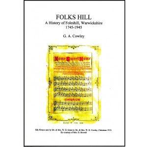 Folkshill (G Cowley) – A history of Foleshill 1745-1945
