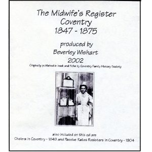 Midwife's Birth Registers, Cholera 1849 & Passive Rates Resisters