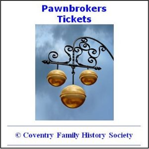 Pawnbroker's Tickets (1915 – 1923)
