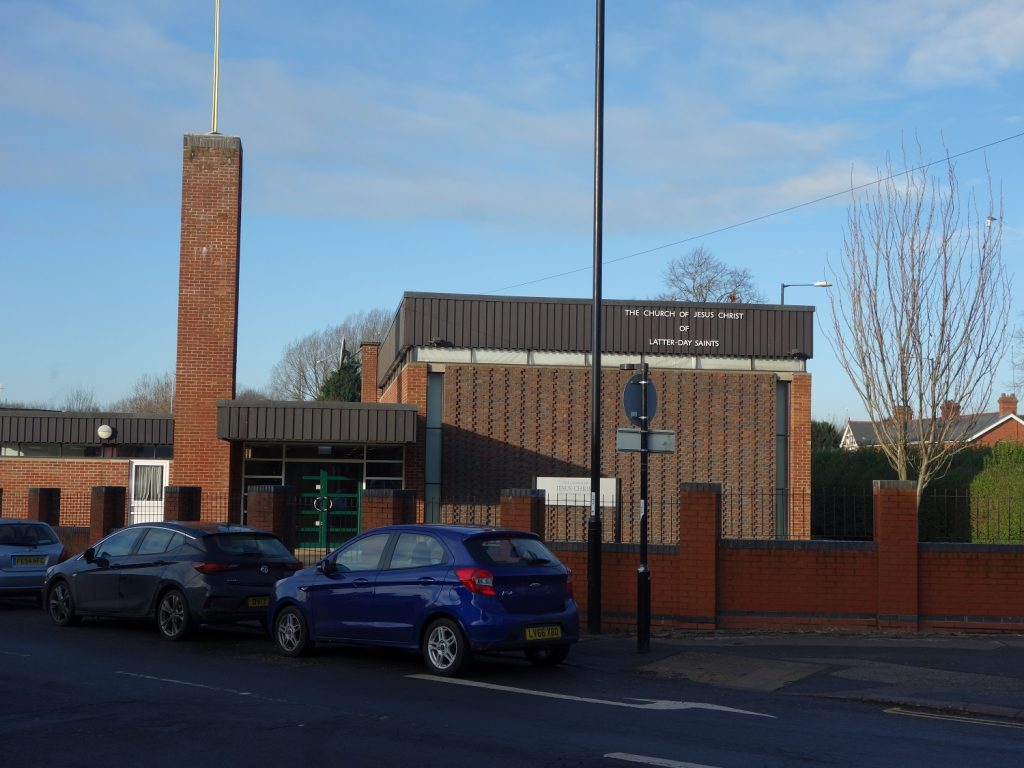 Family History Centre at the Church of the Latter Day Saints Coventry