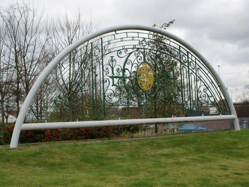 The Armstrong Siddeley Gate