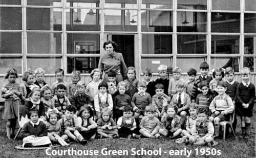 Courthouse Green School - early 1950