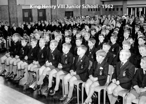 King Henry VIII Junior School - 1962