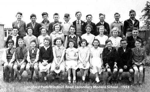 Longford Park-Windmill Road Secondary Modern School - 1953