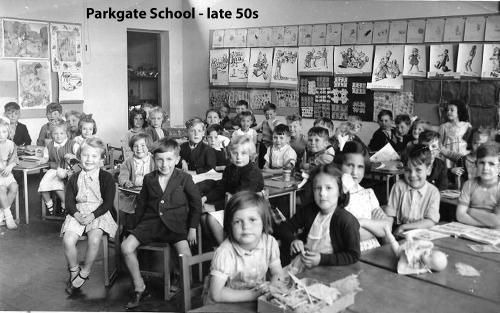 Parkgate School - mid 50s - from Chris Hewitt