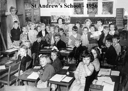 The  class of 1956 - from Jenny Battersby