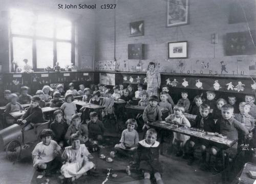 St John School c1927 - from Paul Salisbury