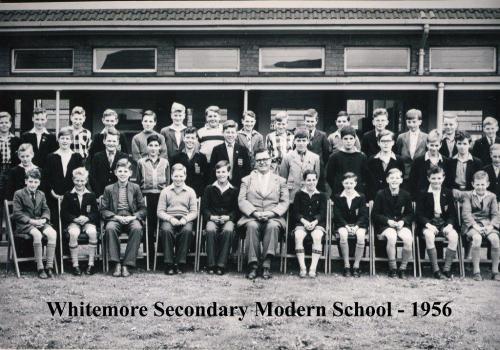 Whitemore School 1956