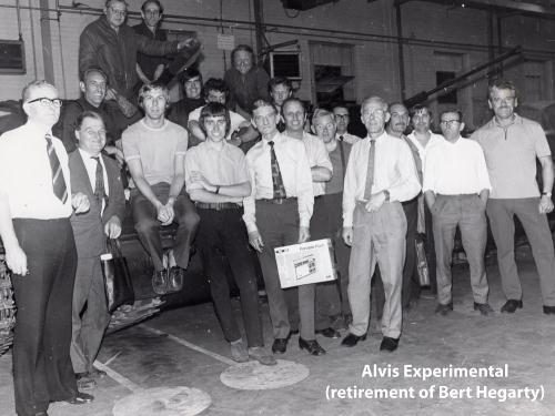 Alvis Expirimental Department