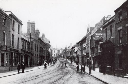 Bishop Street c1910   -   Images reproduced by kind permission of Culture Coventry Trust/Coventry Archives