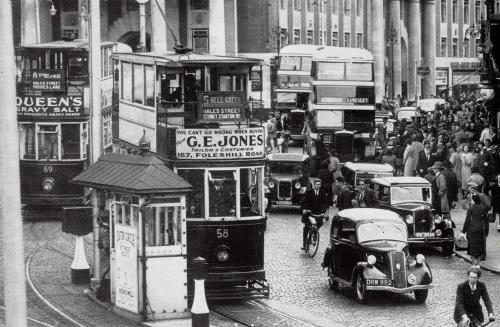 Broadgate c1939   -   Images reproduced by kind permission of Culture Coventry Trust/Coventry Archives