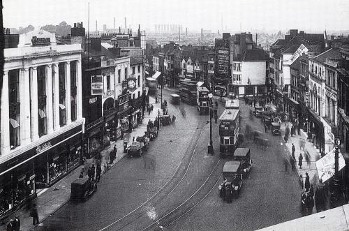 Broadgate north c1931   -   Images reproduced by kind permission of Culture Coventry Trust/Coventry Archives