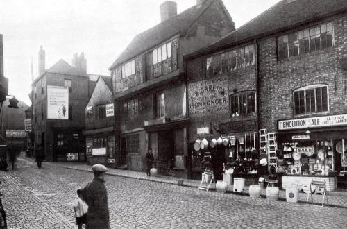 Bull Ring and Butcher Row c1935   -   Images reproduced by kind permission of Culture Coventry Trust/Coventry Archives