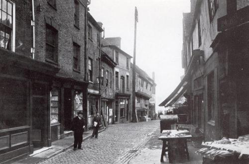 Butcher Row    -   Images reproduced by kind permission of Culture Coventry Trust/Coventry Archives