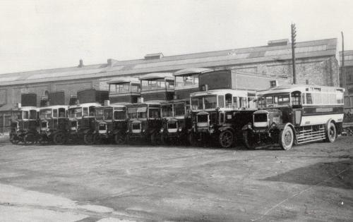Corporation Transport Buses    -   Images reproduced by kind permission of Culture Coventry Trust/Coventry Archives