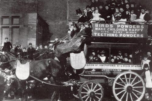 Coventry Horse Bus    -   Images reproduced by kind permission of Culture Coventry Trust/Coventry Archives