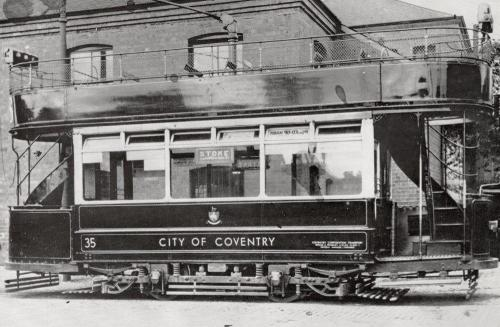 Coventry Tram    -   Images reproduced by kind permission of Culture Coventry Trust/Coventry Archives