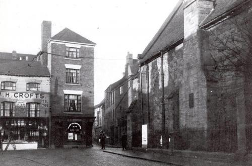 Hales Street and the Burges    -   Images reproduced by kind permission of Culture Coventry Trust/Coventry Archives