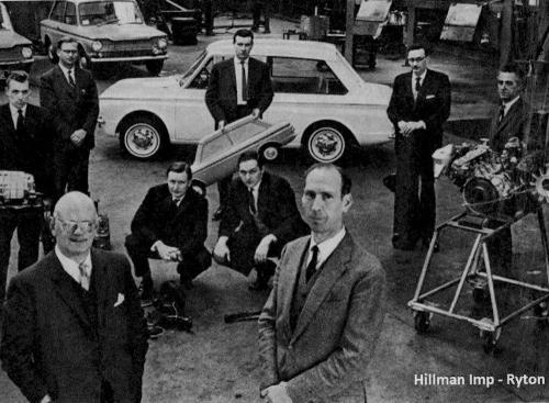 Hillman Imp Ryton Works
