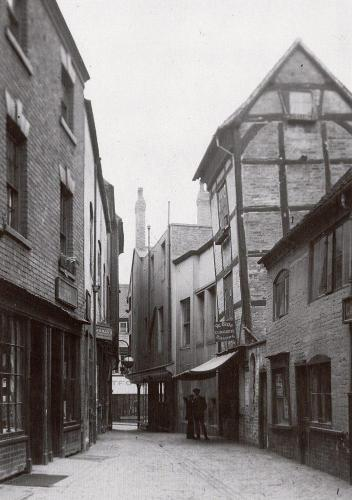 Little Butcher Row    -   Images reproduced by kind permission of Culture Coventry Trust/Coventry Archives