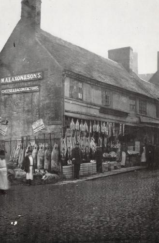 Market Place    -   Images reproduced by kind permission of Culture Coventry Trust/Coventry Archives