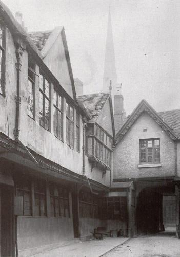 The Palace Yard Earl Street    -   Images reproduced by kind permission of Culture Coventry Trust/Coventry Archives