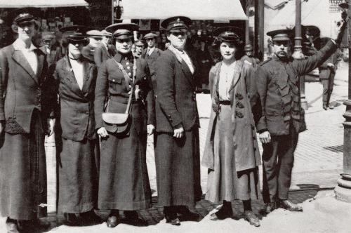 The first Tram Conductresses    -   Images reproduced by kind permission of Culture Coventry Trust/Coventry Archives
