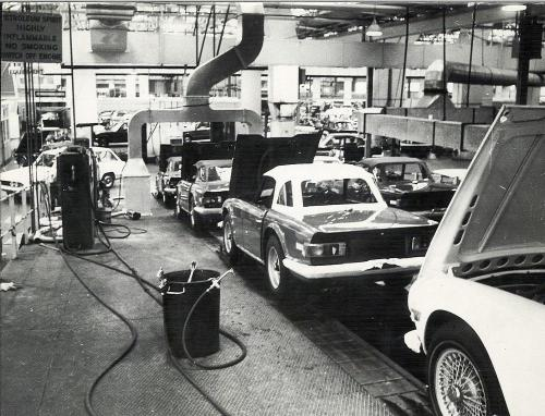 Triumph - Canley - 1970