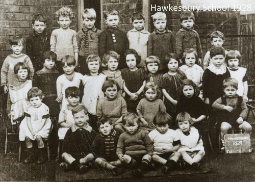 Hawkesbury School 1928 - Kay Dunkley