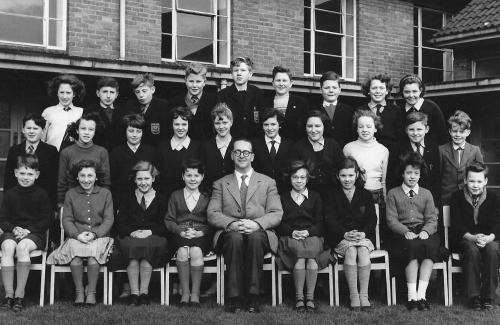 Whitemoor Secondary School - late 50s - from Chris Hewitt
